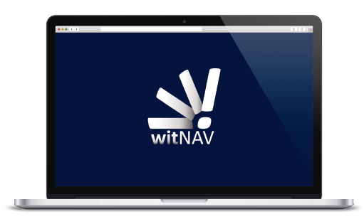 witNAV laptop